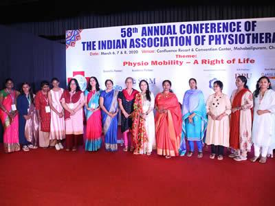 Women Cell Of IAP  At The 58th Annual Conference Of IAP In Mahaballipuram