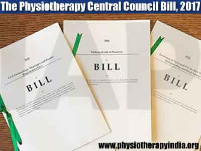 The Physiotherapy Central Council Bill, 2017