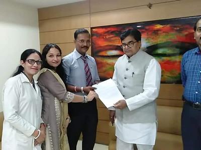 IAP Delegation With Hon'ble Dr.Ram Gopal Yadav Ji (MP-Rajya Sabha)