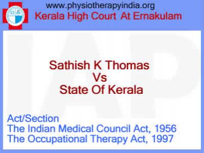 Sathish K Thomas vs State Of Kerala